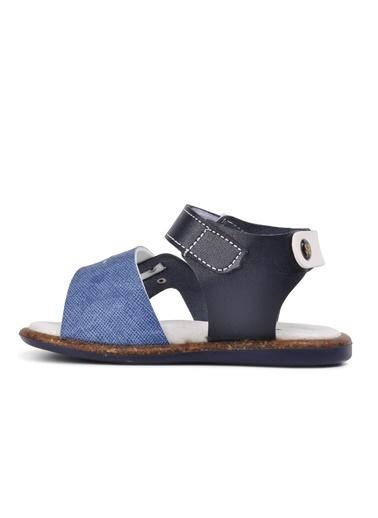 Şiringenç 210107 Lacivert-Kot Mavi Comfort Erkek Çocuk Sandalet Lacivert